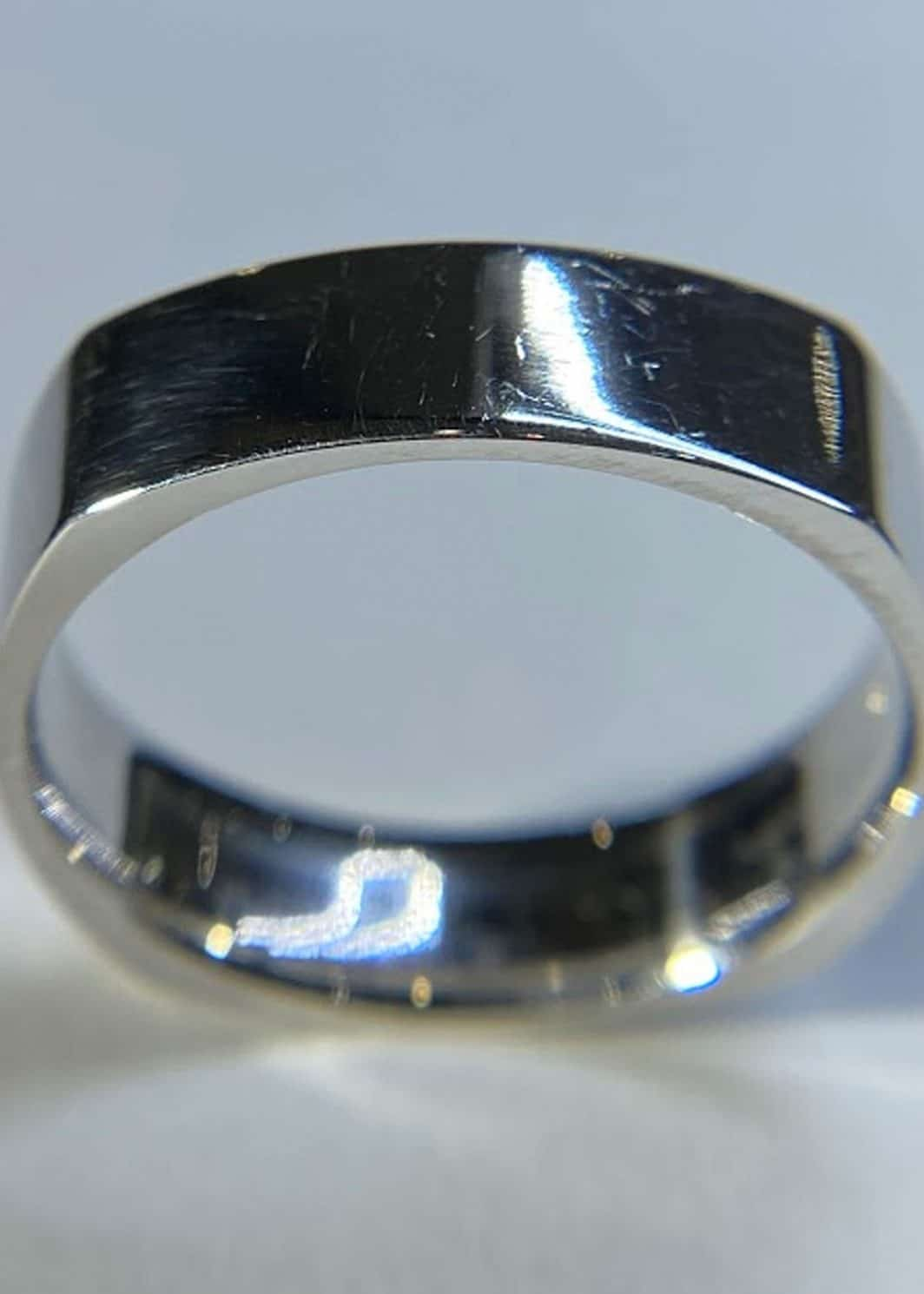 Gents Square Wedding Band