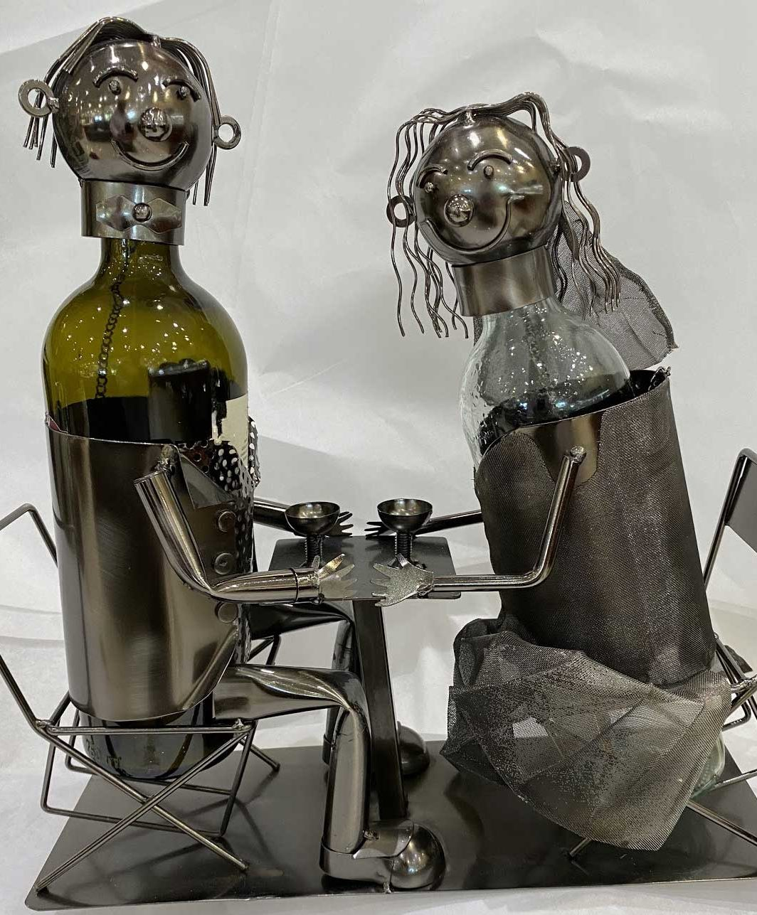 Loving Couple Wine Caddy