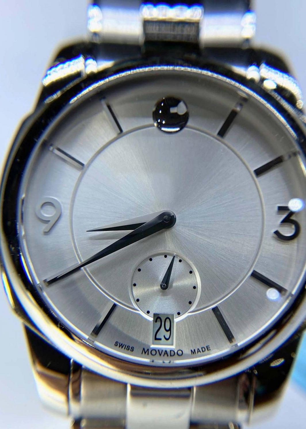 Movado LX Gentlemen's Bracelet Watch_01
