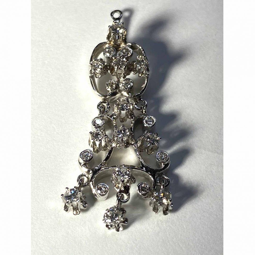 Diamond Chandelier Earring Jackets