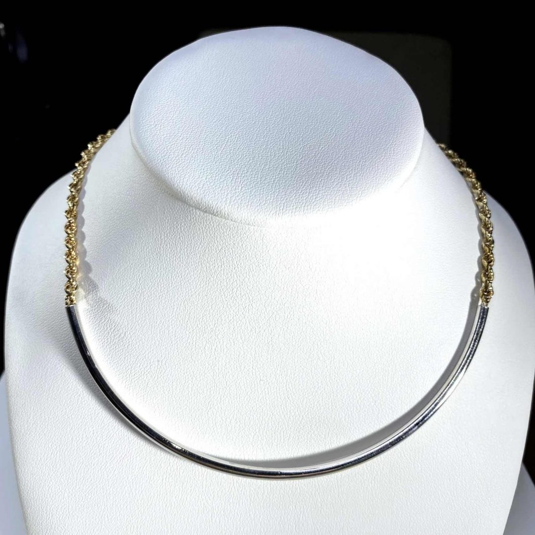 14K Gold Necklace (412-2097)