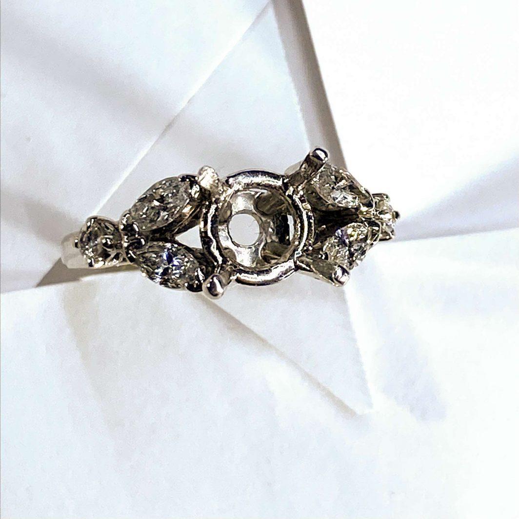 Engagement Ring Platinum (101-92)
