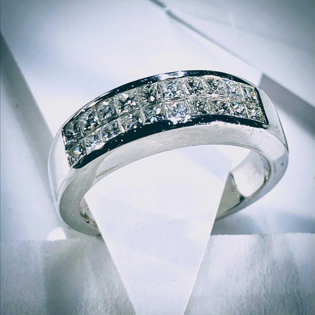 Princess Cut Diamond Band (105-309)