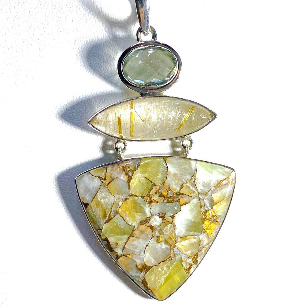 Sterling Silver Pendant (211-402)