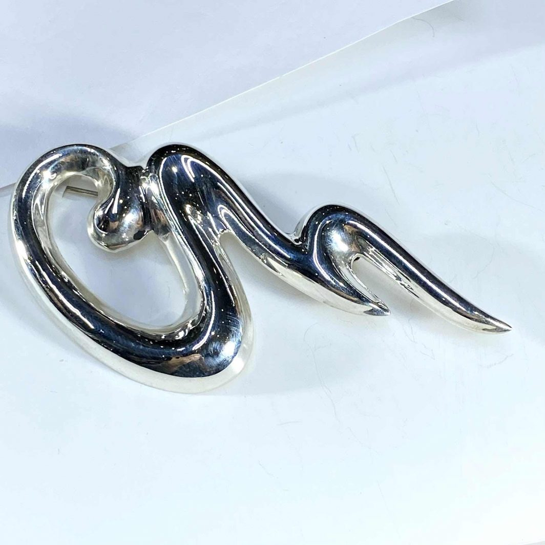 Sterling Silver Pin (420-75)