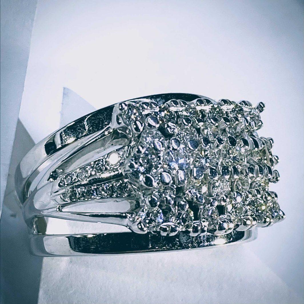 Wide Diamond Ring (107-408)-01