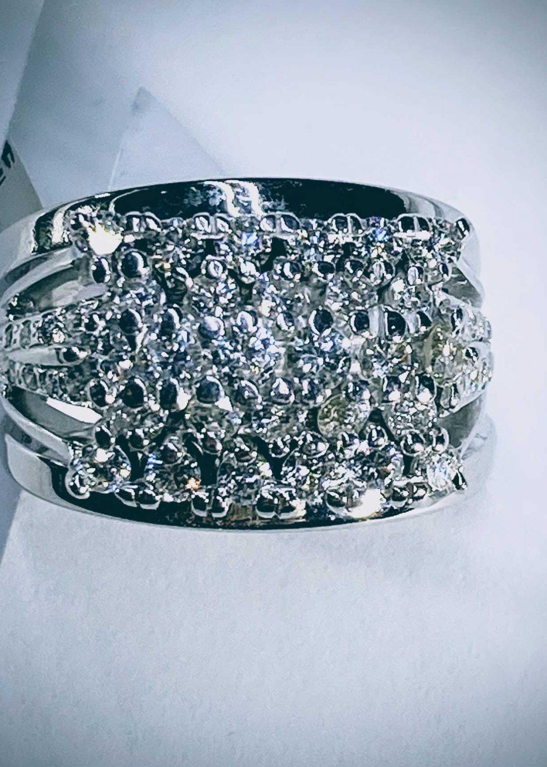 Wide Diamond Ring (107-408)